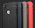 İphone X Xs Litchi Tam Koruma Soft Silikon Kılıf