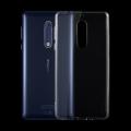 Nokia 5 Ultra Slim Şeffaf Soft Silikon Kılıf