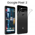 Google Pixel2 Ultra Slim Şeffaf Soft Silikon  Kılıf