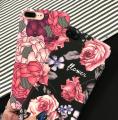 İPhone SE2 2020 -İPhone 8-7  3D Gül Desenli Premium Pc Kılıf