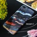İphone 7 Plus İphone 8 Plus Mermer Taş Görünümlü Soft Silikon Kılıf
