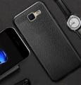 Ally Galaxy J5 Prime Deri Dokulu Premium Fit Soft Silikon Kılıf