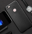 Xiaomi Redmi Note 5a Deri Dokulu Premium Fit Soft Silikon Kılıf
