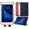 Galaxy Tab E 8.0 T375 T377 Gizli Mıknatıslı Standlı Ultra İnce Deri Kılıf
