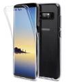 Ally Galaxy Note 8 360 Koruma Şeffaf Silikon Kılıf