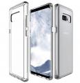 Ally Samsung Galaxy Note 8 İçin Ultra Slim Şeffaf Soft Silikon Kılıf