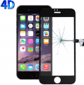 İphone 6,İphone 6s 4d Kavisli Full Cam Kırılmaz Koruyucu