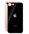 İphone 7 İphone 8 Arka Renkli Kırılmaz Cam Arka Koruyucu