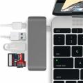 5 İn 1 Usb-C Hub 3.0 Type-C Şarj Kart Reader Type-C Bütün Cihazlar İçin