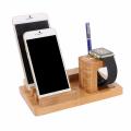 İWATCH VE İPHONE İÇİN BABMBU MASAÜSTÜ DOCK  4 USB ŞARJ STANDI