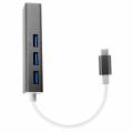GİGABİT TYPE-C3.0 3PORT USB 3.0 ÇOKLAYICI VE ETERNET ADEPTÖRÜ