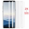 Gor Galaxy Note 8 3d Kavisli Darbe Emici Full Ekran Koruyucu 2 Adet Set