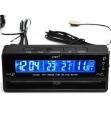 Ally Vst-7010 Araç İçin Termomete Saat Voltmetre