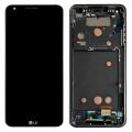 LG G6 ORJİNAL FULL EKRAN LCD DOKUNMATİK ORTA ÇITA