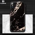 Floveme İPhone  X Xs Mermer Desenli Premium Silikon Kılıf