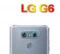 Lg G6 Yüksek Çözünürlüklü Kamera Lens Koruma Camı