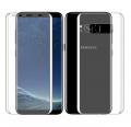Ally Samsung Galaxy S8 Plus İçin Ön Arka 3d Nano Glass Full Şeffaf Koruyucu