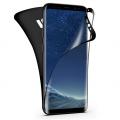 Sm Galaxy S9+ Plus Ön Arka 3d Darbe Emici Pet Renkli Full Koruyucu