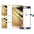 Ally Samsung Galaxy C7 İçin Full Kaplama Kırılmaz Cam Ekran Koruyucu