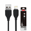 XO NB8 SUPER 1 METRE İPHONE, LİGTNİNG 2.1A USB KABLO
