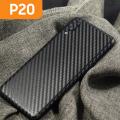 Ally Huawei P20 Arka Karbon Fiber Kaplama Sticker