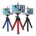 Mini Esnek Ahtapot Tripod Selfie  Masa Üstü Standı
