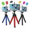 Mini Tripod Selfie Masa Üstü Stand + Bluetooth Kumanda