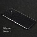 Ally Galaxy S9+ Plus Timsah Derisi Görünümlü Arka Kaplama Sticker