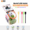 Haweel 35 Adet Karışık Renkli İphone Usb Kablo Set