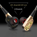 Ally Hifi 3.5mm Jack Dort Speaker Mikrofonlu Kulaklık