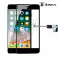 Baseus İPhone 7,8 Plus 4D Kavisli Full Kaplama Kırılmaz Cam Ekran Koruyucu