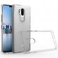LG G7 ThinQ DARBE EMİCİ ŞEFFAF SİLİKON KILIF