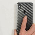 Xiaomi Mi Mix 2s Şeffaf Carbon Arka Koruma Bandı