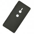 Sony Xperia Xz2 Slim Fit Soft Premium Silikon Kamera Korumalı Kılıf
