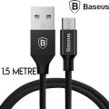 BASEUS YİVEN MİCRO USB 1,5 METRE 2.0A HIZLI ŞARJ USB KABLO