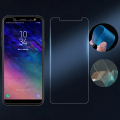 Ally Samsung Galaxy A6+ Plus 2018 İçin Esnek Darbe Emici Nano Glass Ekran Koruyucu