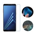 Ally Samsung Galaxy A8+ Plus 2018 İçin Esnek Darbe Emici Nano Glass Ekran Koruyucu