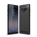 Ally Galaxy Note 9 Dark Ultra Koruma Karbon Fiber Doku Silikon Kılıf