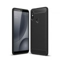 Xiaomi Redmi Note 5 Pro Dark Ultra Koruma Karbon Fiber Doku Silikon Kılıf