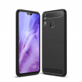 Huawei Honor 8x Dark Ultra Koruma Karbon Fiber Doku Silikon Kılıf