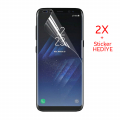 Gor Galaxy S8+ Plus 3d Kavisli Darbe Emici Full Ekran Koruyucu 2 Adet Set
