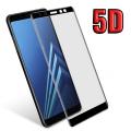 Ally Samsung Galaxy A8+ Plus,2018 İçin 5d Kavisli Full Kırılmaz Cam Ekran Koruyucu