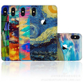 İPhone X Xs Tayvan Kalite Creativ Art,Sanat Telefon Kaplaması Sticker
