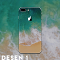 İPhone 8 Plus Tayvan Kalite Creativ Desenli Telefon Kaplaması Sticker