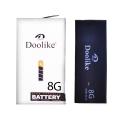 Doolike İphone 8 1821 Mah Best Kalite Pil Batarya