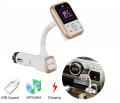 Bt67 Dual Usb Çıkış Araç Bluetooth Araç Kiti A2dp Streo Mega Bas