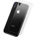 Baseus İPhone XR 6.1 0.3mm Arka Full Kırılmaz Cam Ekran Koruyucu