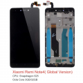 XİAOMİ REDMİ NOTE 4X LCD EKRAN DOKUNMATİK(Qualcomm 625)