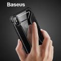 Baseus İphone Xs Max 6.5 Race Silikon Kılıf Dayanıklı Lastik Desen