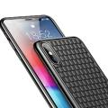 Baseus İphone Xr 6.1 Weaving Bv Premium Silikon Kılıf